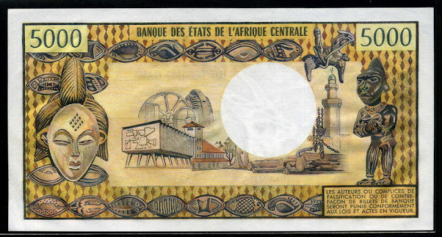 African banknotes currency CFA franc banknotes bill