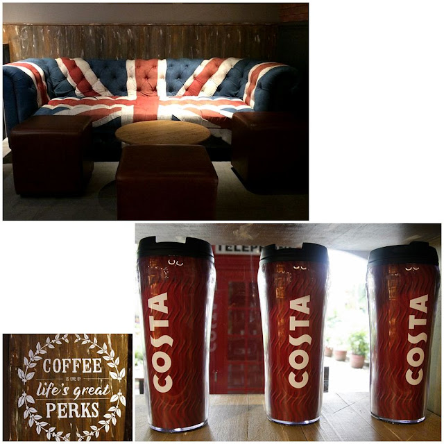 Costa Coffee Eastwood Manila Philippines