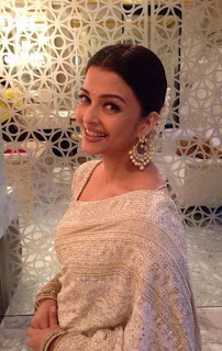 Aishwarya Rai Embroidery Saree 1