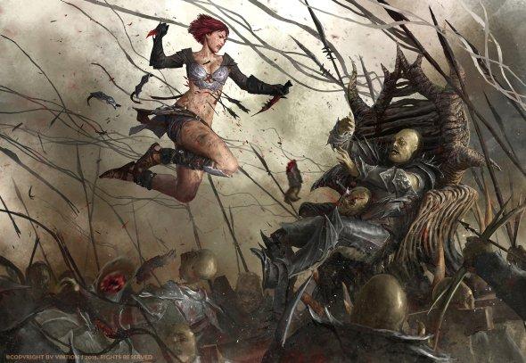 Yintion Jiang artstation arte ilustrações ficção científica fantasia sketches mulheres games