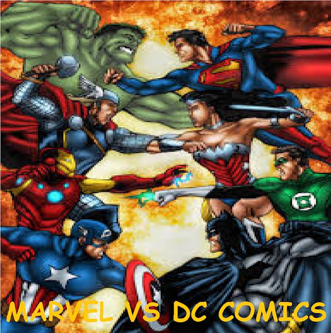DC VS MARVEL: UNA ETERNA RIVALIDAD