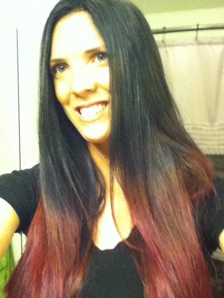 Bottom Half Bleached Hair | hairstylegalleries.com