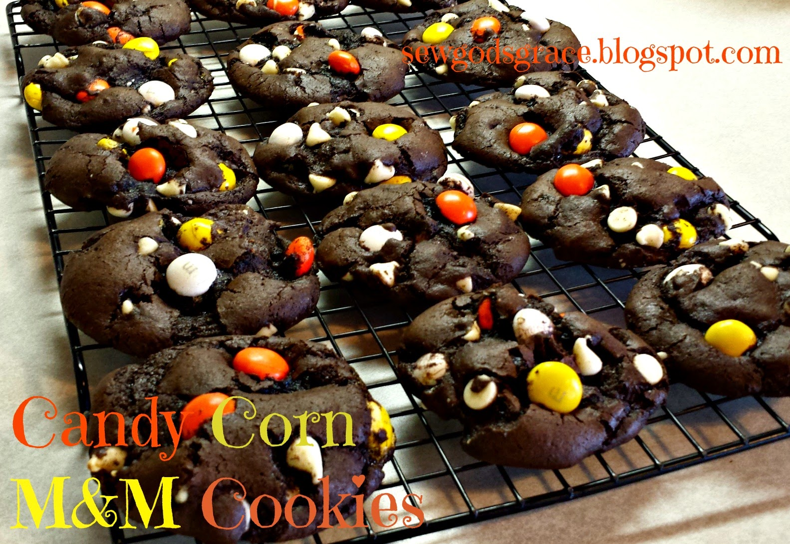 Candy Corn M M Cookies