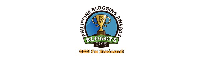 Nominated in Bloggys 2015