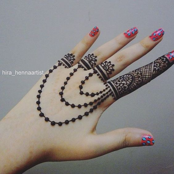 25 Gorgeous Mehndi Designs For Your Fingers Bling Sparkle