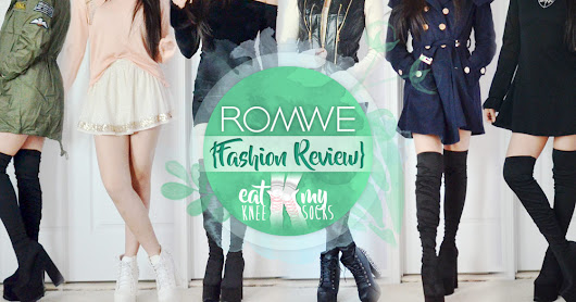 Romwe Fashion Review: Autumn Coats, LBDs + More!
