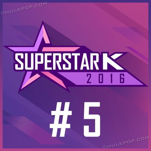 [Single] Various Artists – SUPERSTAR K 2016 #5