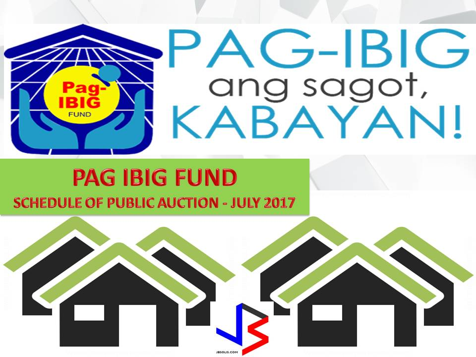 Hundreds of acquired assets of properties of Pag-IBIG Fund will be auctioned this July 2017. Five Pag-IBIG branches nationwide will be participating in the public auctions. These includes National Capital Region, General Santos City, Sultan Kudarat, Pagadian and La Union.   If you are looking for properties to buy such as lot, house and lot, townhouse, duplex, Quadro-duplex, row houses, and many others, this is your opportunity to own.  Disclaimer: Thoughtskoto is not affiliated nor is we selling any property. All the information had been verified through Pag-Ibig website. We encourage you to transact only with Pag-Ibig authorized agent in their office when participating in an auction.