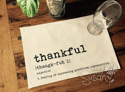 Thankful Placemat