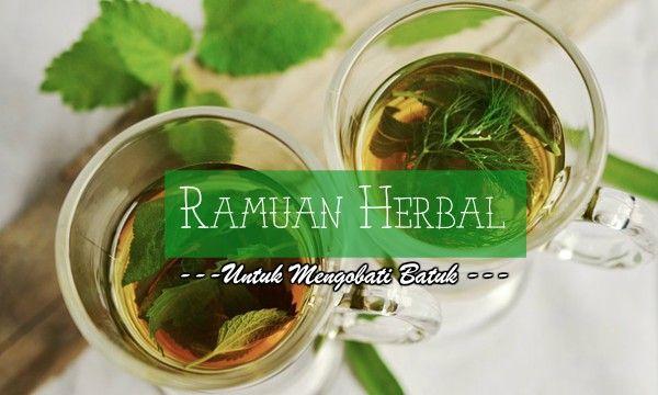 Obat Herbal untuk Mengatasi Batuk