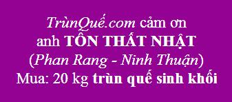 Trùn quế về Ninh Thuận