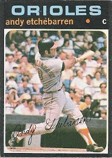 Vintage Fridays: Andy Etchebarren, 1971 Topps #501