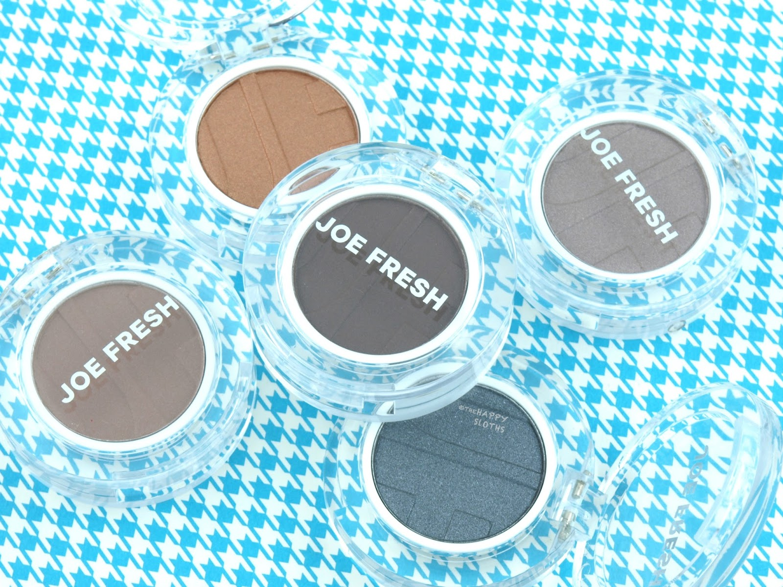 Joe Fresh Beauty Single Eyeshadows: Review and Swatches