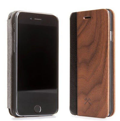 Handmade Wooden Flipcover iPhone 7 Case