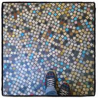 sol mosaïque librairie mollat