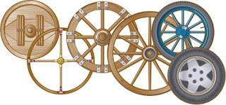 ejemplos históricos de ruedas