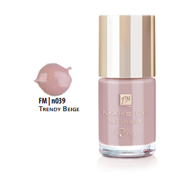 FM Group n039 Nail Lacquer Gel Finish