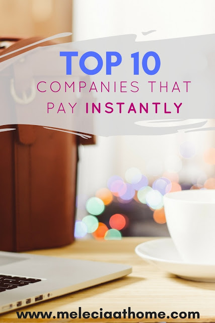 Top 10 List  Pay Instantly Online Jobs Fast Quick Money