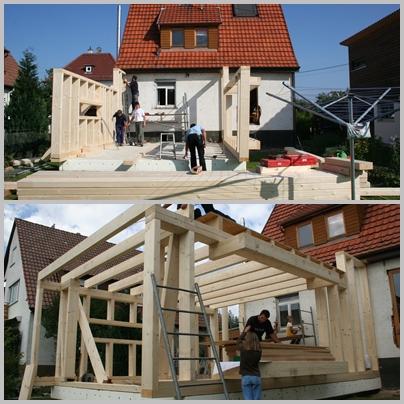 Anbau Aus Holz Selber Machen Wohn Design