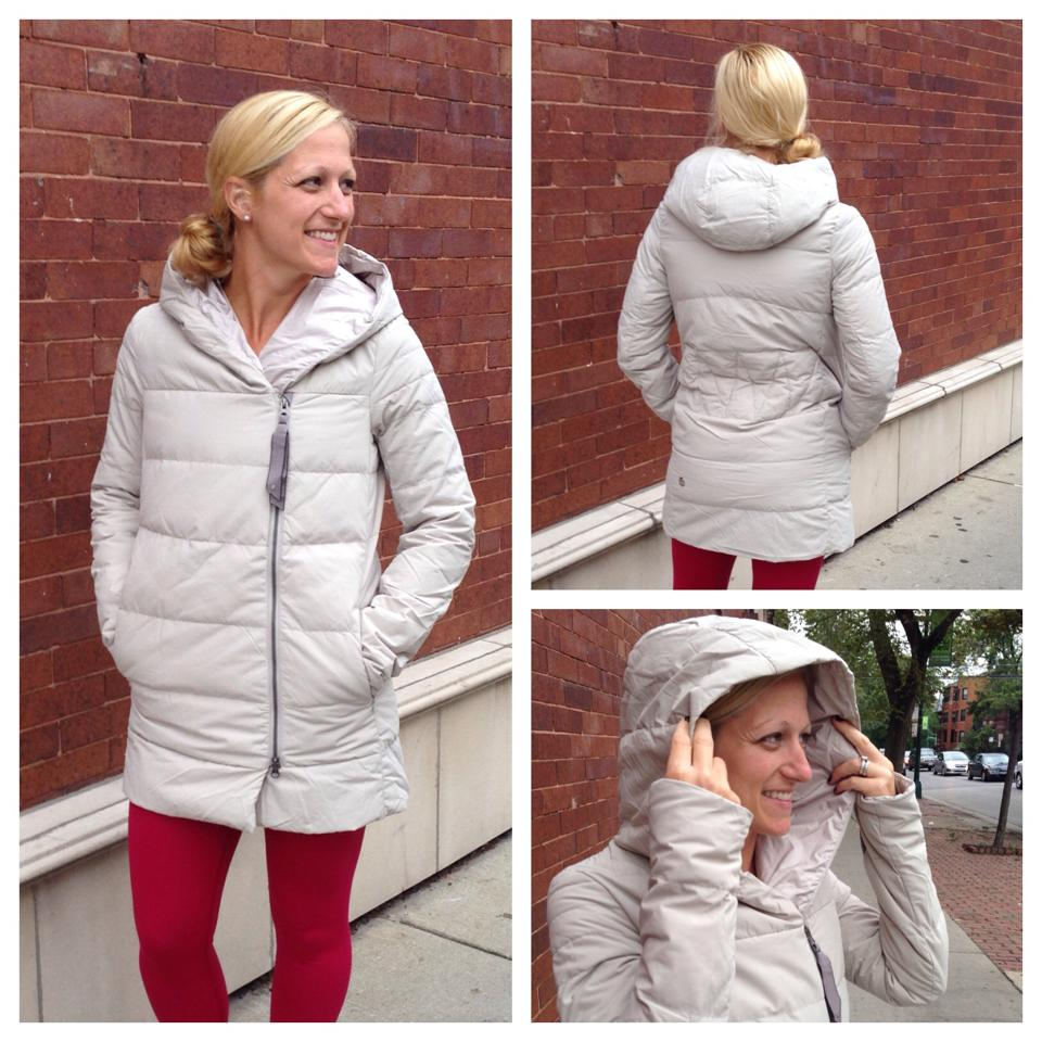 lululemon puffy blanket jacket