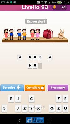 Emoji Quiz soluzione livello 93