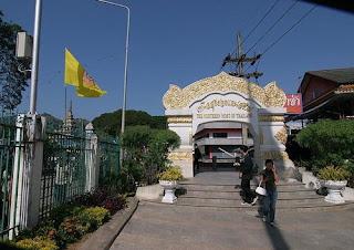 Пограничный переход Мэ Сай - Тачилей (северная точка Таиланда)