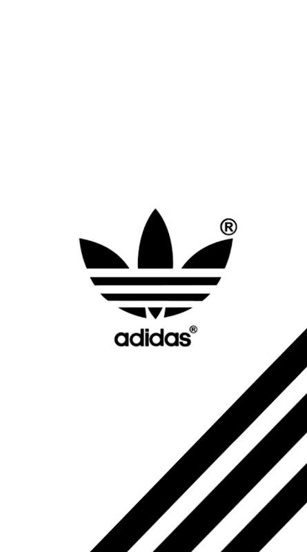Adidas Logo White Wallpapers Hd Wallpapers Sinaga