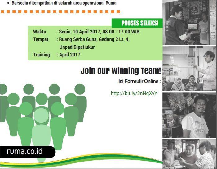 Lowongan Kerja April Rumah Management Trainee Sales