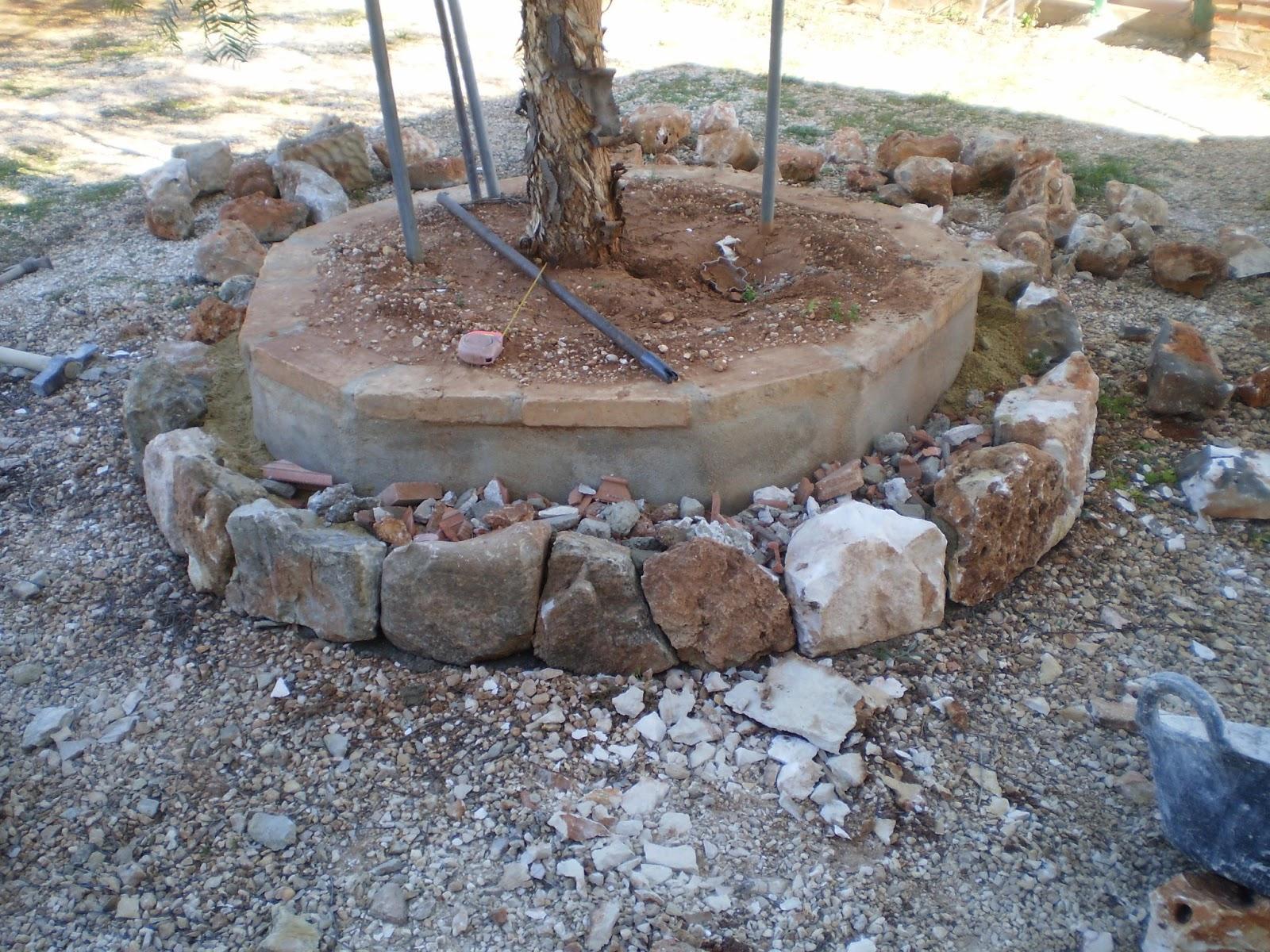El blog de la elena un blog dulce divertido y - Como hacer una pared de piedra y cemento ...