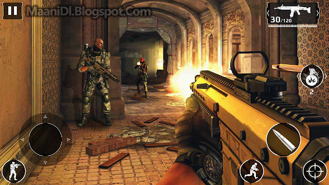 Modern Combat 5 APK + OBB DATA Highly Compressed (5MB)