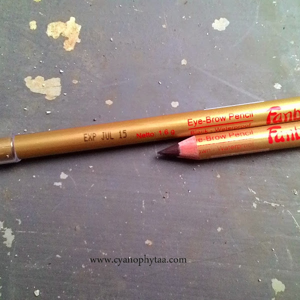 Review Fanbo Eye Brow Pencil Brown and Black