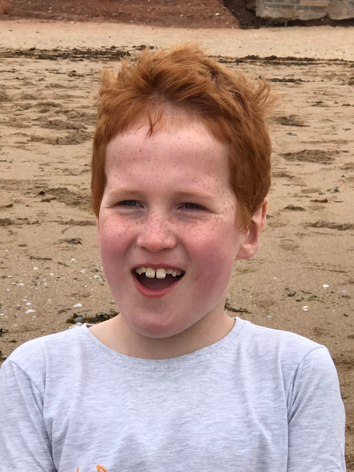 Ieuan on Thurlestone Beach