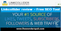 Linkcollider review  - Free SEO Tool + Your #1 source of Likes, Tweets, Subscribers, Followers and Web Traffic.