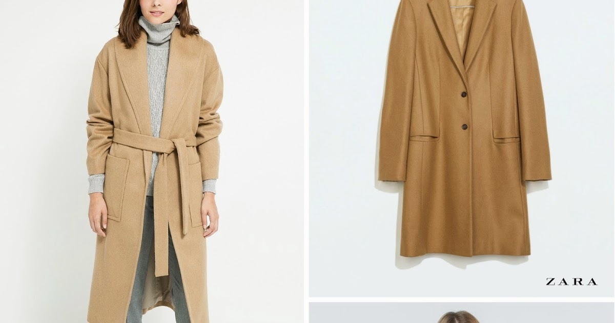Thader Tendencias: Quiero un abrigo camel. 4 propuestas