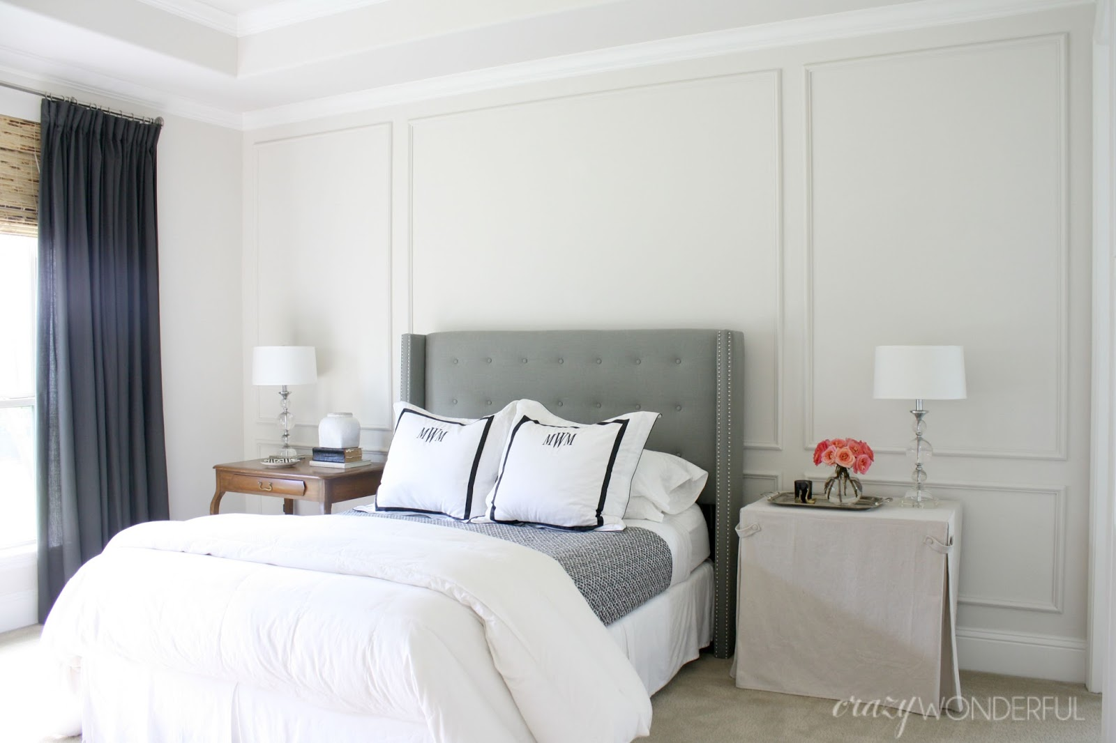 diy picture frame moulding crazy wonderful. Black Bedroom Furniture Sets. Home Design Ideas