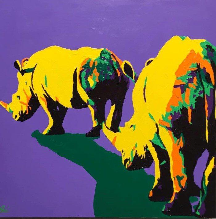 Животные и искусство. Shai Steiner
