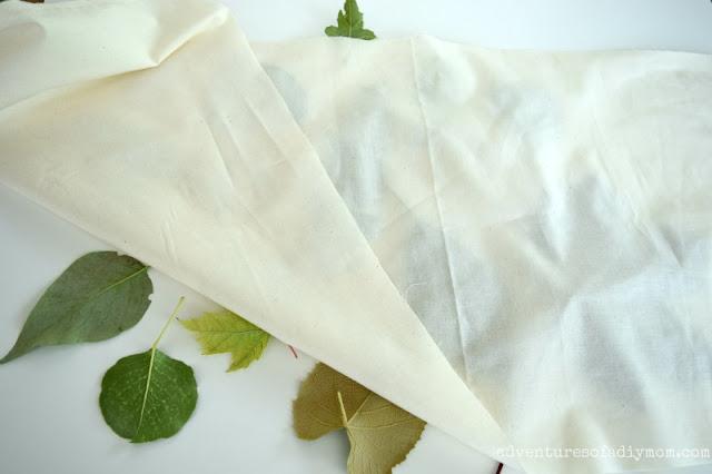 prep for leaf rubbing