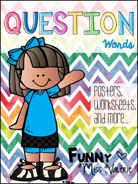 https://www.teacherspayteachers.com/Product/Question-Words-Poster-set-Boardgame-Worksheets-3119843