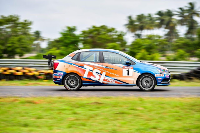 Volkswagen Ameo Cup 2018:  Round One kicks-off in Coimbatore this weekend