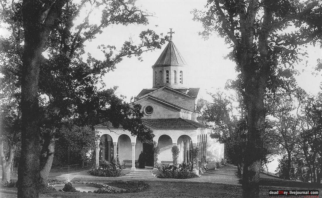 Строительство храма в Оренаде, Крым