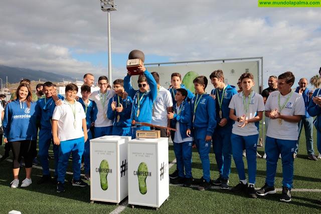El Campeonato de Fútbol Sub-16 de Canarias, CAMPECAN SOL by MELIÁ La Palma 2019, ya tiene ganador