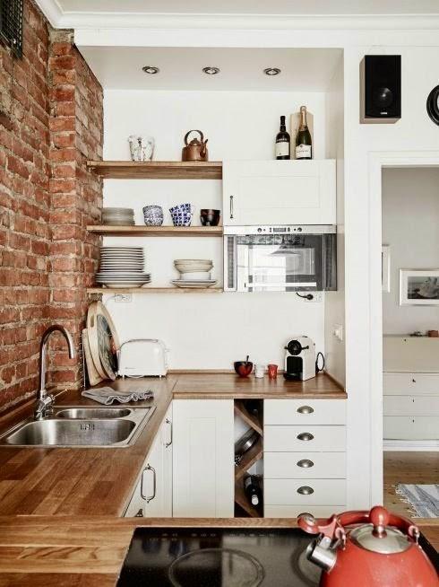 26 Desain Interior Dapur Cantik Yang Mungil Desainrumahnya Com