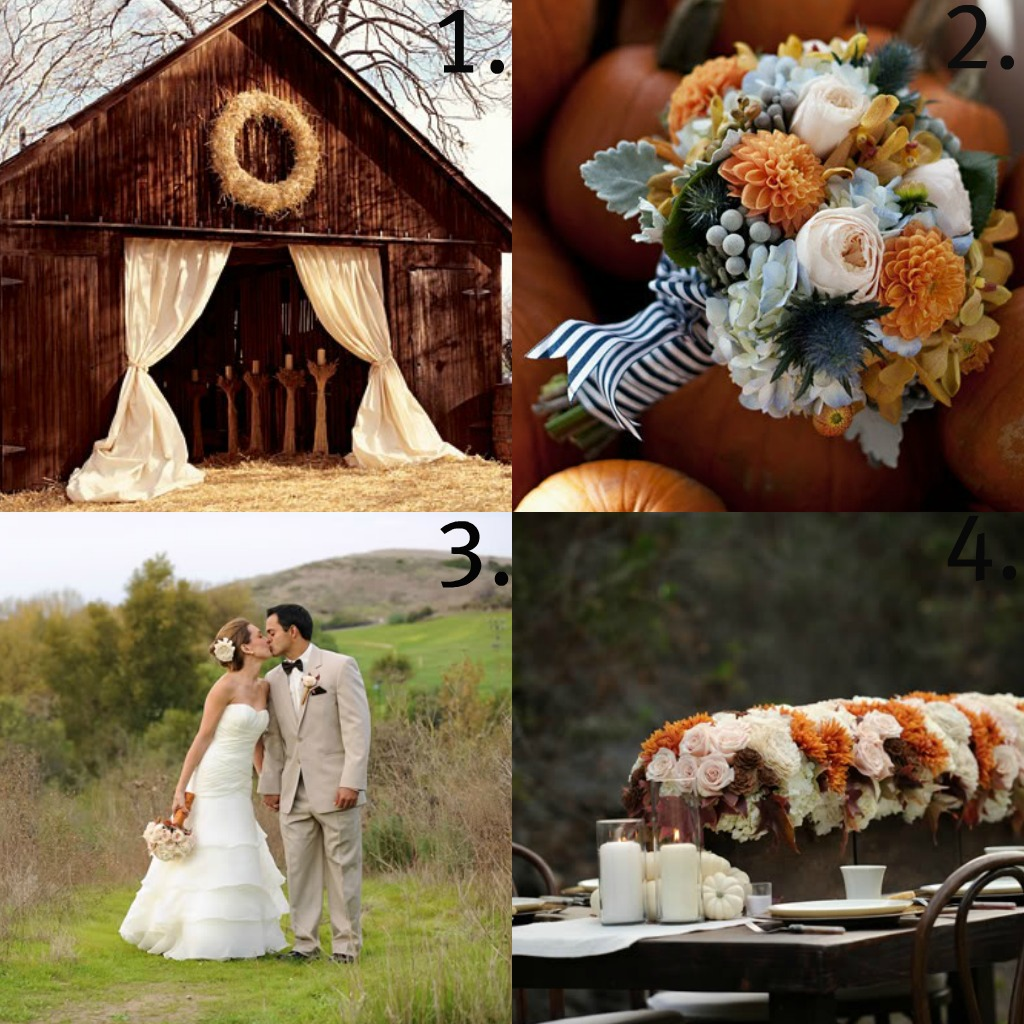 Fall Barn Wedding Ideas: Fall Weddings { Inspirational Tips & Styles