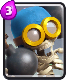 Carta Bomber de Clash Royale - Cards Wiki
