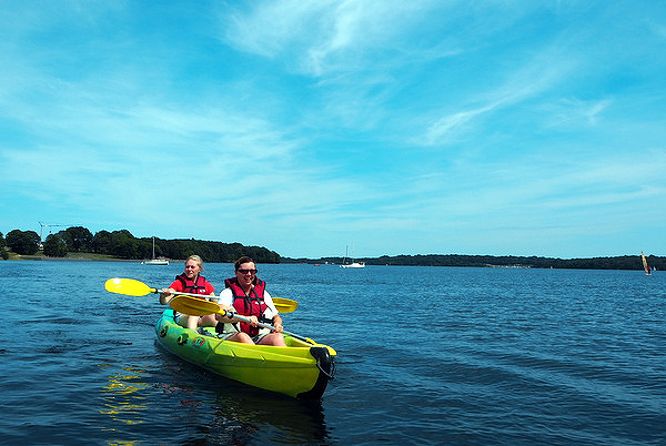 kayak eau d'heure