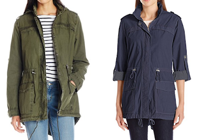 Levi's Cotton Fishtail Anorak $70 (reg $180)