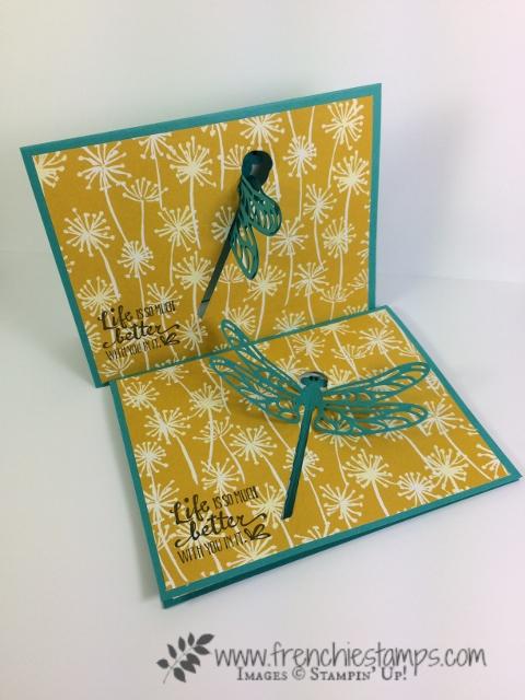 Petal Palette, Sliding Door Framlits, Sweet Cake Framelits, Moving Card, Interactive Card, Stampin'Up!