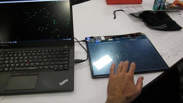 Synaptics capacitive touch sensor