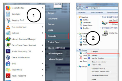 Cara Mengganti/Merubah Drive Letter Windows 7/8/8.1/10