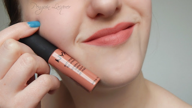 nyx soft matte lip cream zurich mit stift